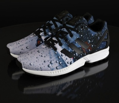 official photos 087bb 455b6 adidas Originals relaunch their ZX Flux customization programme allowing  sneaker heads to apply any high-res photo to the shoe via an app.