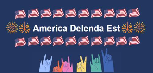 "zvaigzdelasas: Latin for""Happy Birthday America""! Reblog if you want to wish America a happy birthday too!!"
