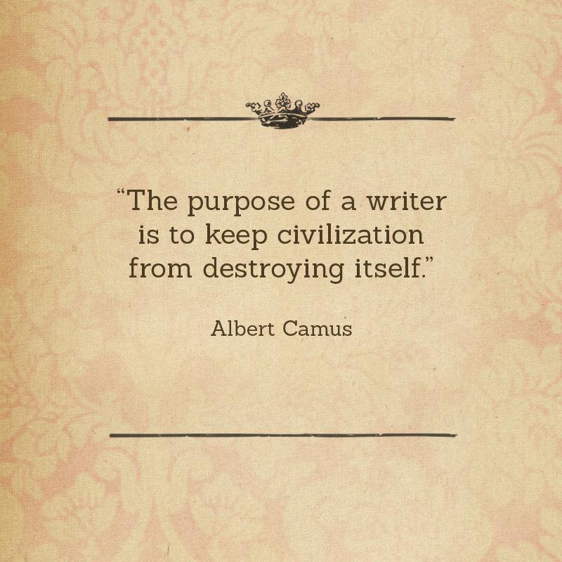 Out Of Print: Happy Birthday, Albert Camus