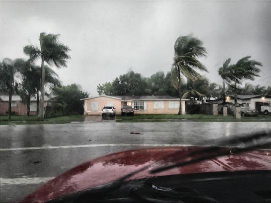 Windy before Hurricane Irma hits 1