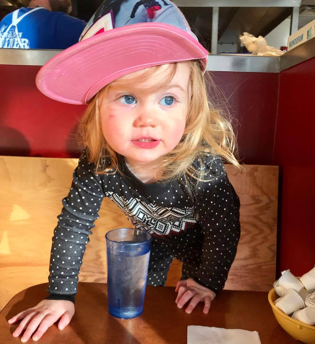 Breakfast Blue Eyed Beauty … having a 2 year old is awesome! (at The Golden Diner)https://www.instagram.com/p/Bu__FIvl8g6/?utm_source=ig_tumblr_share&igshid=1pix9heyt45sd
