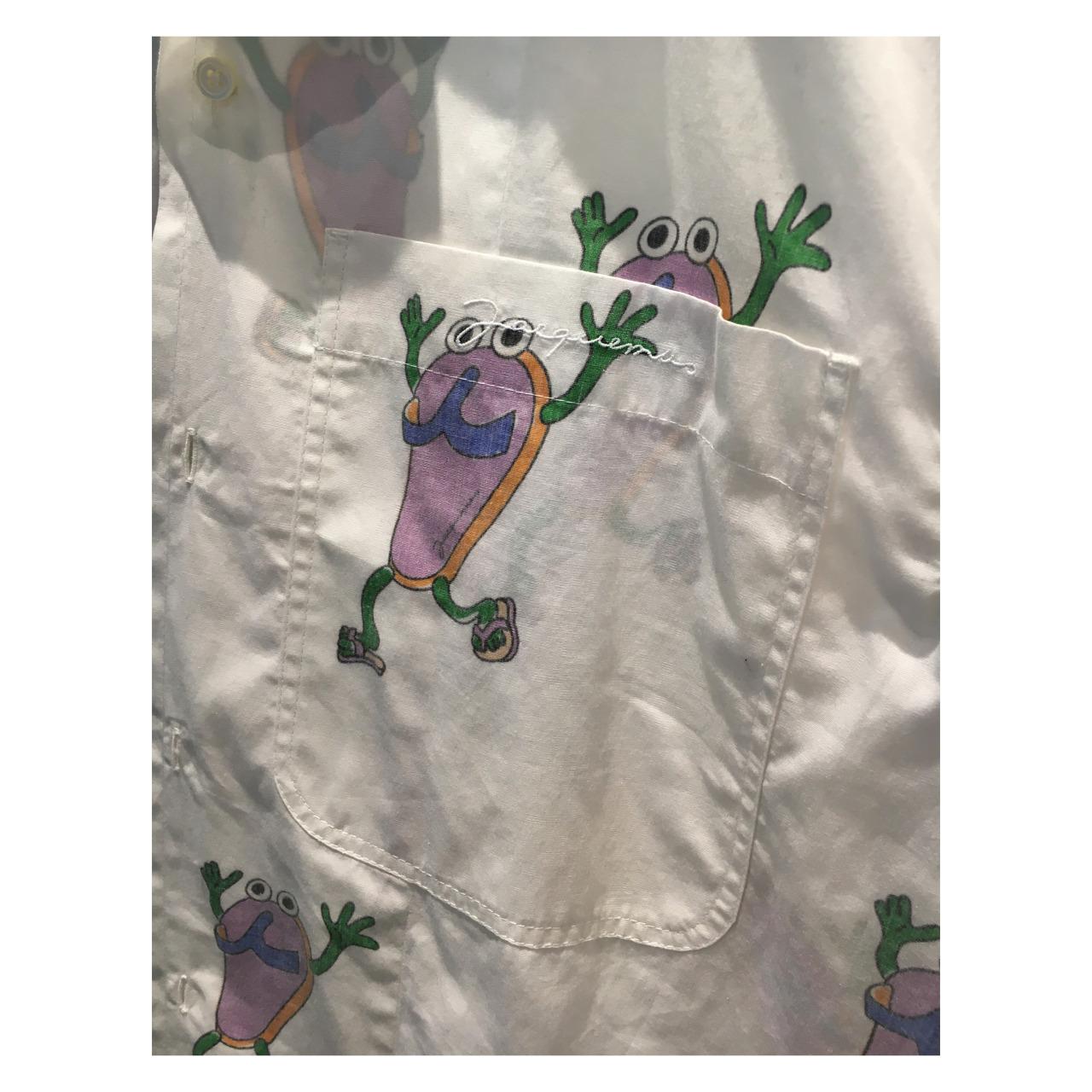 "JACQUEMUS, ""L'ANNÉE 97″AW 20-21Shirt / T-Shirts / Underwear prints by Camille Potte #jacquemus#2020#menswear#pattern#fashion"