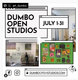 For the first time, DUMBO Open Studios is going online