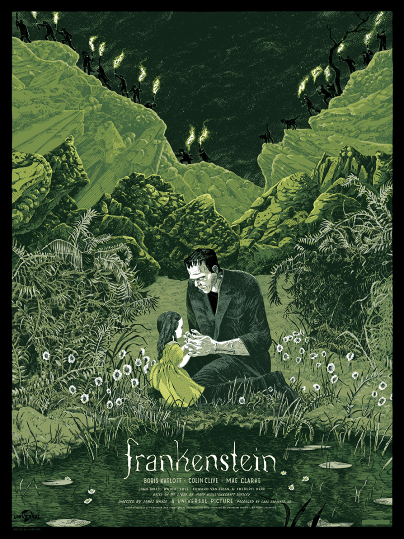 thepostermovement:  Frankenstein by Jessica Seamans