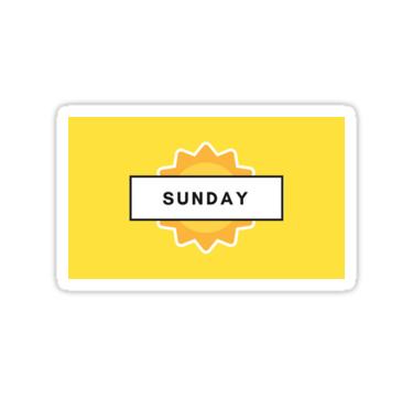 Sunday || #stickers #journals || https://ift.tt/2vK93fe #stickers#sunday#studyspo#studyblr#sunny