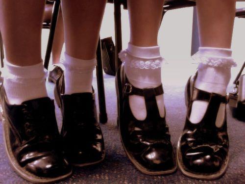 black kinderwhore mary janes shoes sweet socks