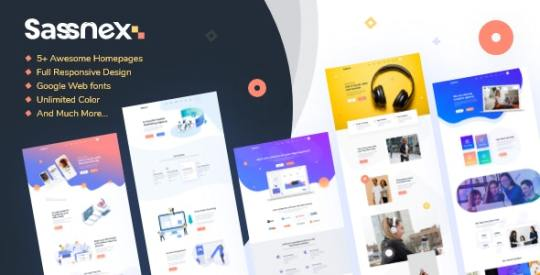 Sassnex v1.0 – Multi-concept WordPress Theme for App Saas & Startup Nulled