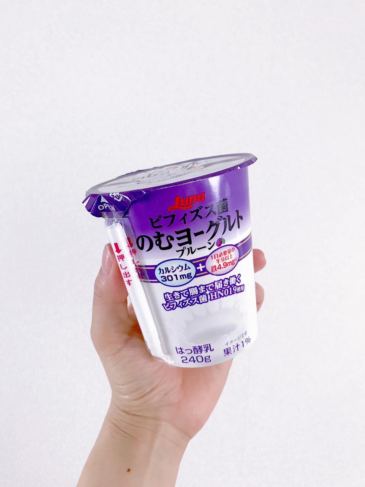プルーン 発酵 乳