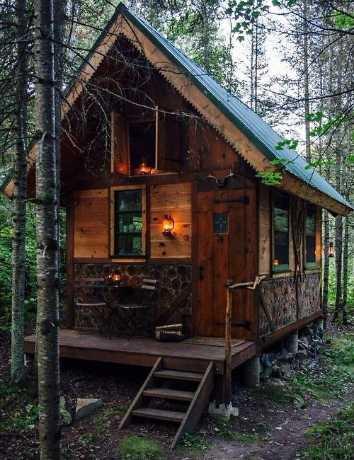 cabin in the woods on Tumblr