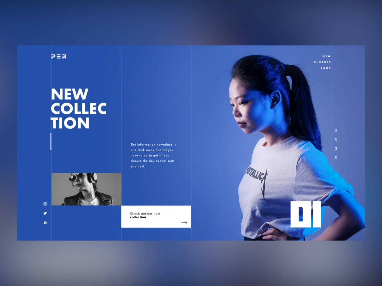 Making A Landing Page Concept Using My Own Photos by Minh Pham #ui#ux#design drips#interface#animation#elegant#fashion#interaction#landing page#layout#minh pham#motion#parallax#photography#typography#vietnam#web design