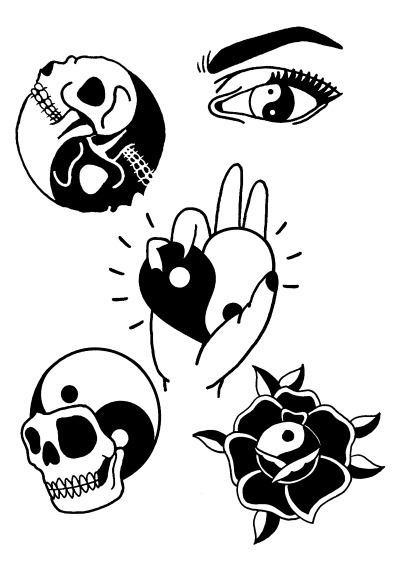 Yin Yang Draw Tumblr