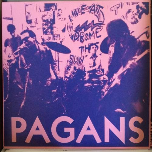 French reissue of this classic Cleveland single in stock and up on the site #totalpunk #pagans #pagans#totalpunk