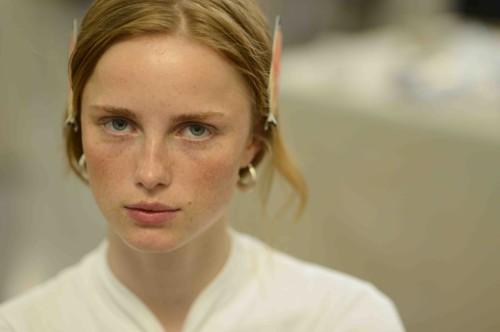 rianne van rompaey model beauty chanel makeup *