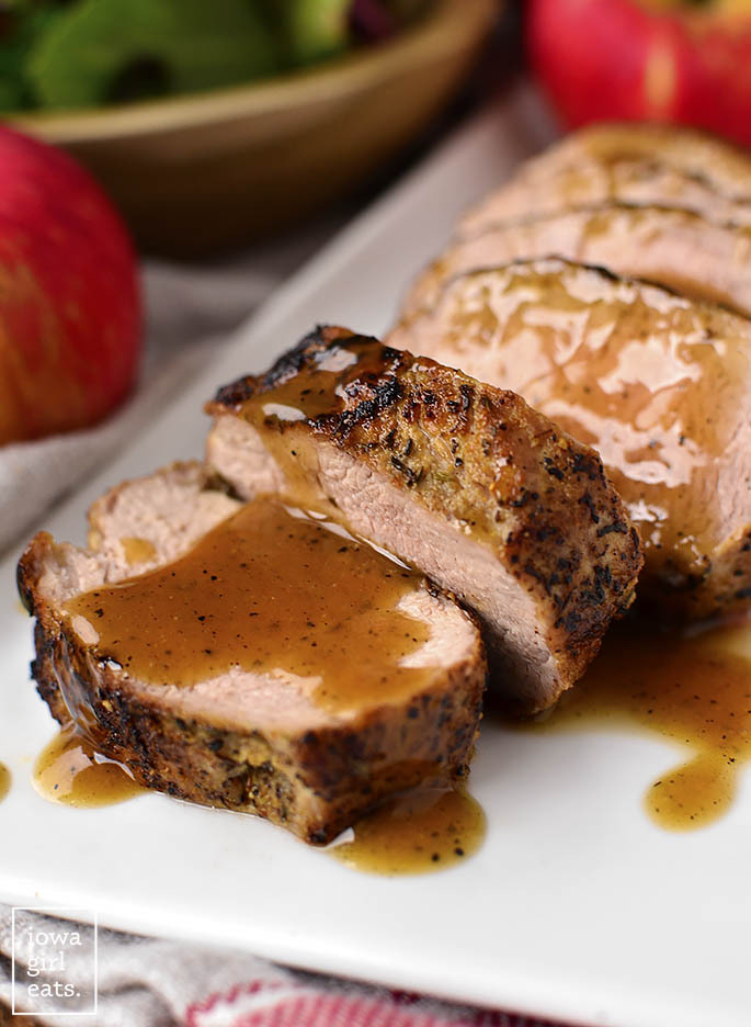 1 SKILLET MAPLE DIJON CIDER PORK TENDERLOIN