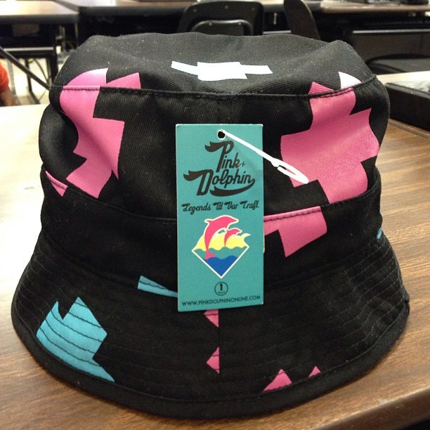 804c9acea8b10 New Cop From Yesterday. PINK DOLPHIN BUCKET HAT !  wdyct  pinkdolphin   bucket