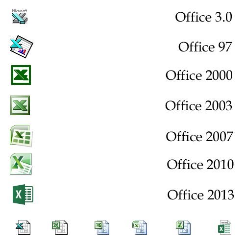 C:\>_ — Collection of Microsoft Office icons This is the