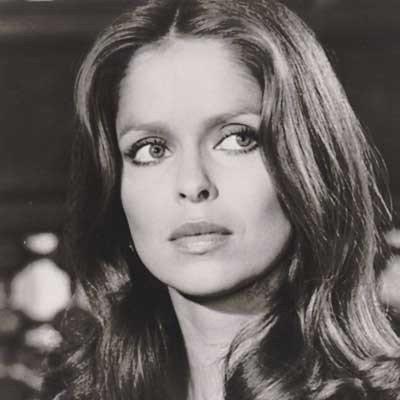 Blissed as a newt (Barbara Bach)