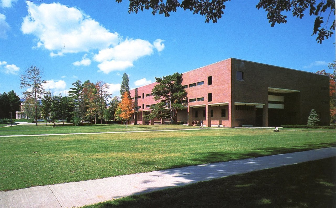 Sawyer Library (1975) of Williams College in Williamstown, MA, USA, by Harry Weese and Associates
