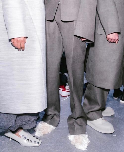 jil sander fw18 corey tenold mfw rtw details shoes