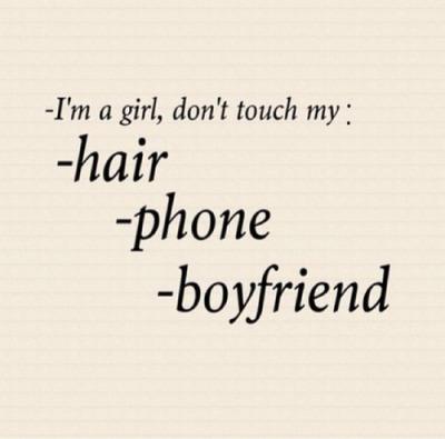 dont touch my boyfriend   Tumblr