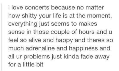 Concert Quotes Tumblr