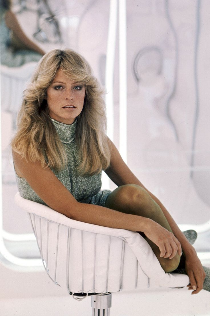 Farrah Fawcett, Logan's Run (1976) #farrah fawcett#1970s#Actress#sci fi#science fiction#blonde