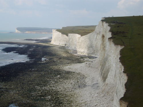 seven sisters cliffs east sussex england the atlas