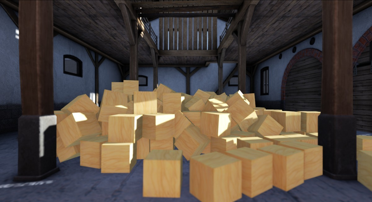 Traditional prims stored in a building by llorisen (slightly modified by Randy and me)