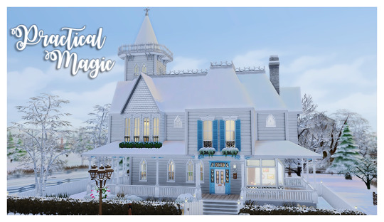 I made the house from the movie Practical Magic. This was one of my favorite movies growing up and probably started my love for...