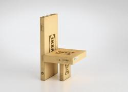 Cutie din carton pentru roți de bicicletă.Ambalajul este realizat din carton CO3 nature și este personalizată prin flexografie într-o culoare. Modelul cutiei este FEFCO 0201, tip BAX.