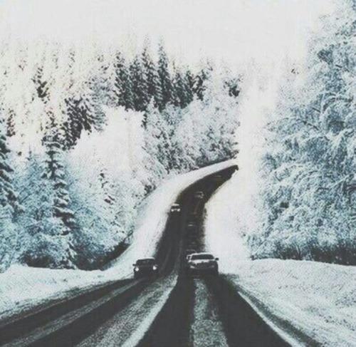 cars road winter favim