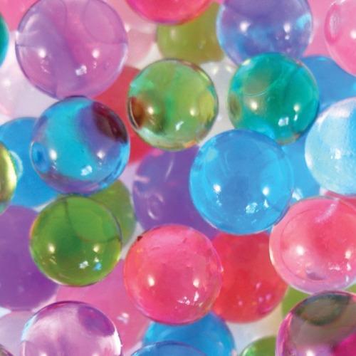 pastels orbeez gel beads clear stim toys