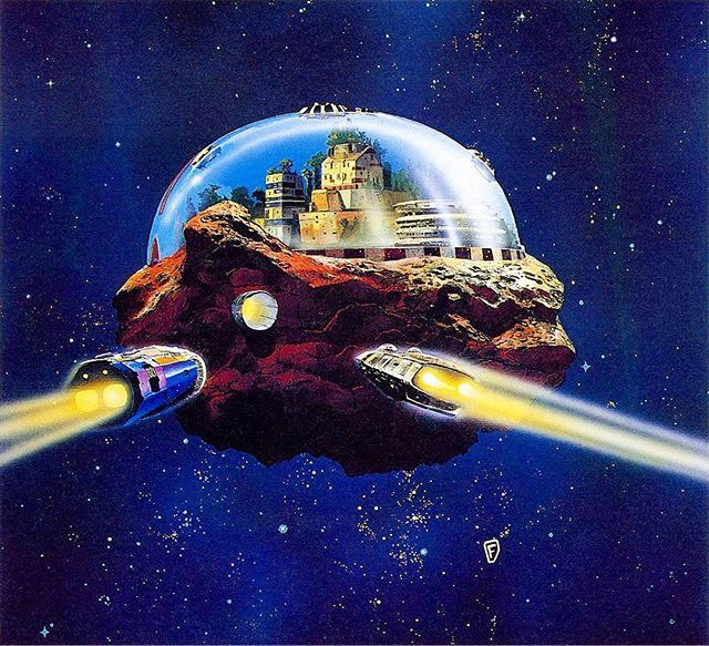70s Sci Fi Art Chris Foss: Lost My Thirst For A World That's Running Dry