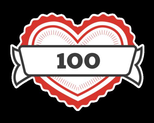 100 likes tumblr milestone