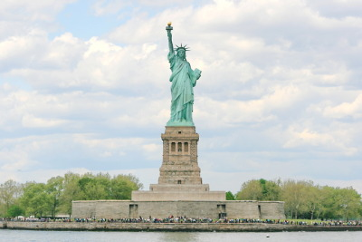 Statue of Liberty, Ellis Island, New York, USA.