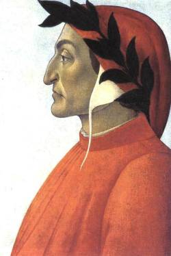 Portrait of Dante, 1495,  Medium