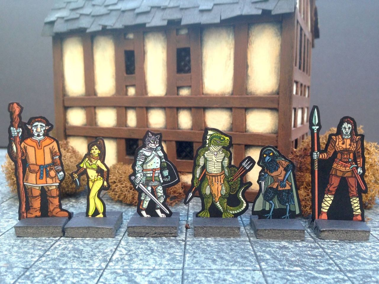 Mike's Miscellany — Free Volo's Adventurers Paper Minis