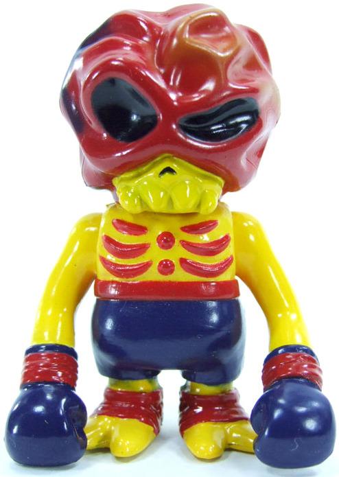 Hell Skull Brain Secret Base Sofubi Kaiju Kaiju Toy