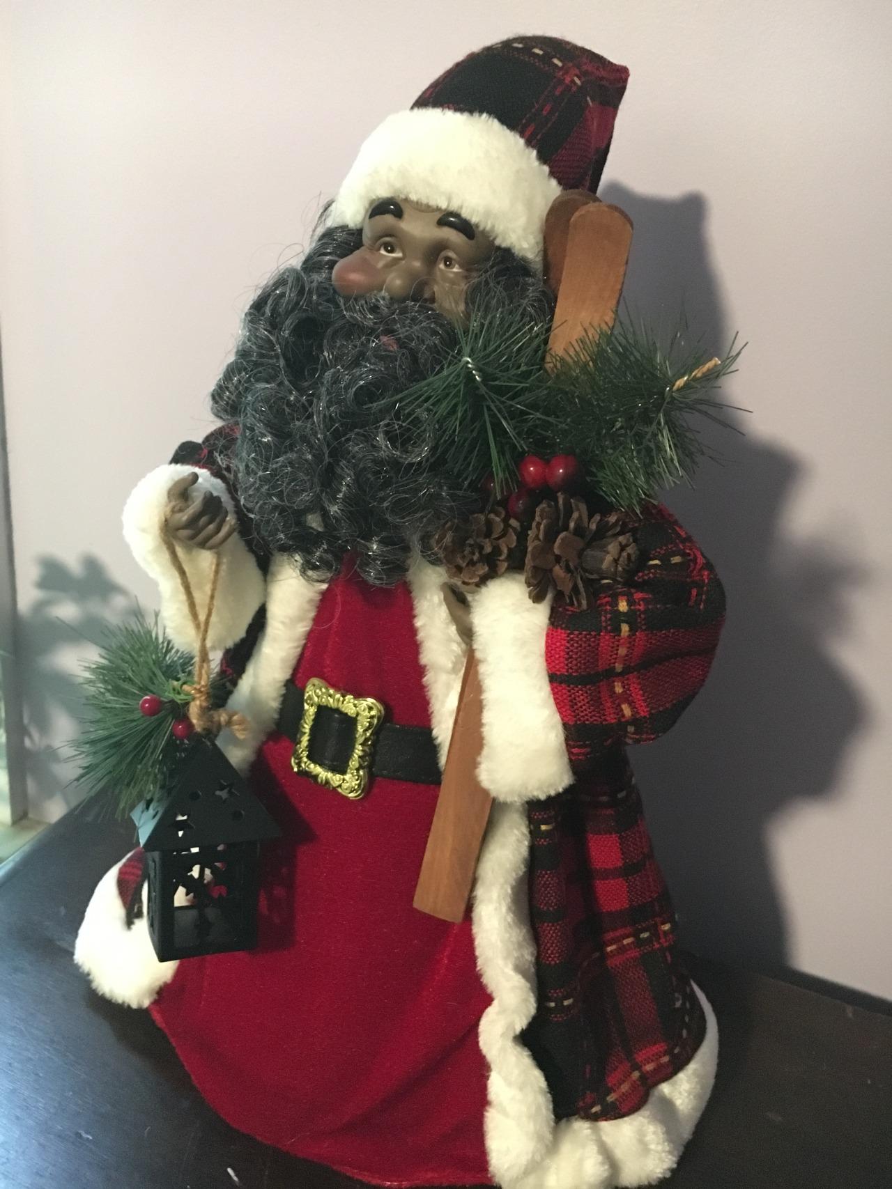 Historically Black Christmas Tree Topper Circa 2000 New Paltz