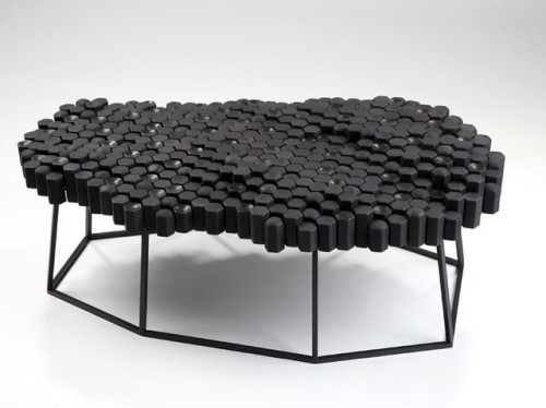 everythingcreativeblog design product design industrial design furniture furniture design side table coffee table table david knowles giants causeway rado star prize rado star prize 2018 british design British Designer designed in uk black is beautiful geology