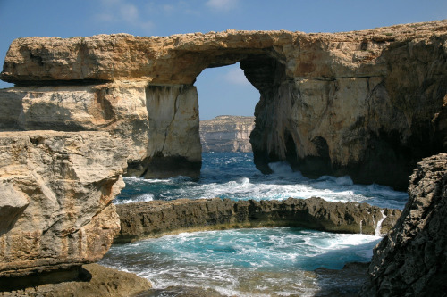 The Azure Window and the Blue Hole - Gozo, Malta