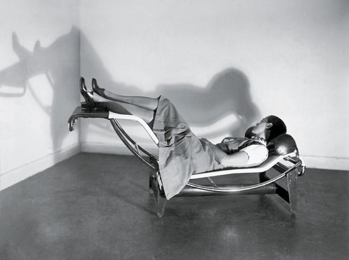 Charlotte Perriand On The Chaise Longue 1928