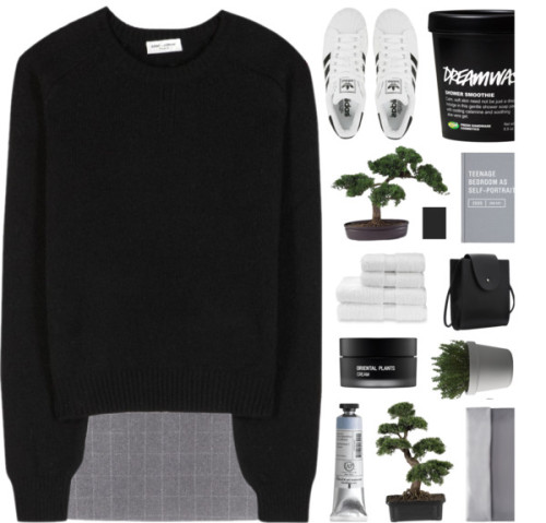 polyvore Yves Saint Laurent Koh Gen Do Christy Muuto Nearly Natural adidas fashion style clothing