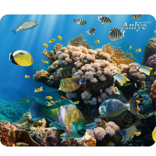 cool mouse pad mouse pad custom mouse pad computer decor computer ocean <3 beautiful amazing anlye original fish colorful panting office home decor