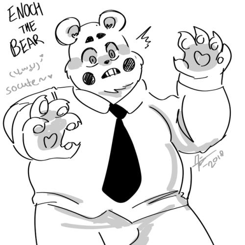 OFF Enoch The Bear SO CUTE KYAA!! X3\\