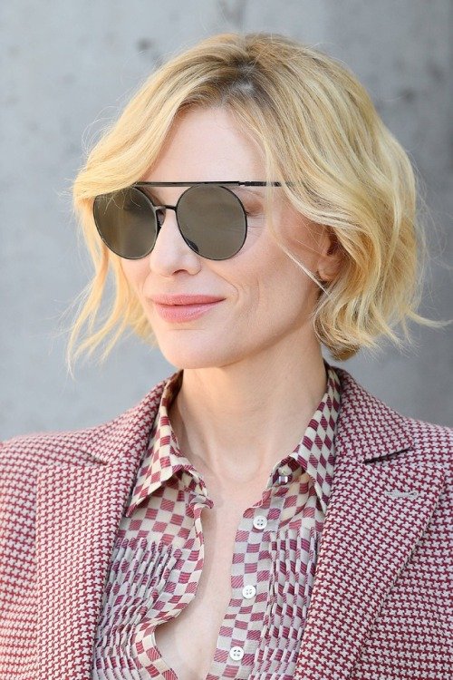 cate Blanchett giorgio armani milan fashion week HQ