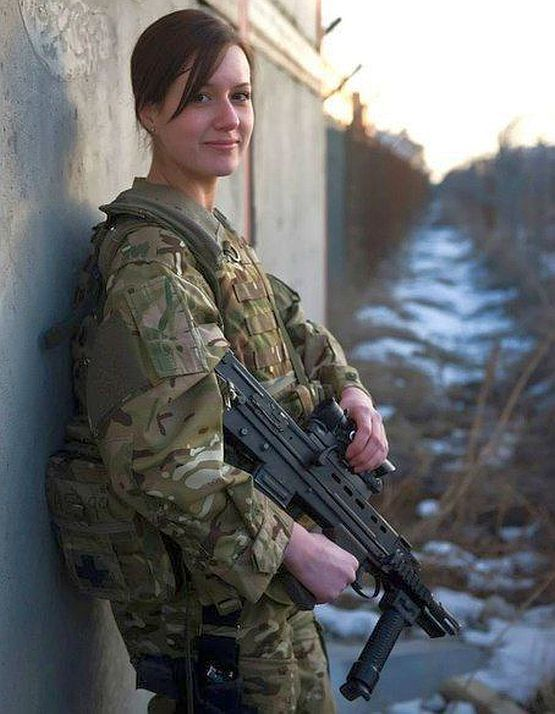 Women In The British Army - Heart Of England-7062