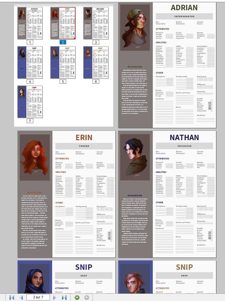 Secrets of the Masquerade — V5 Corebook, no gloves review P 1