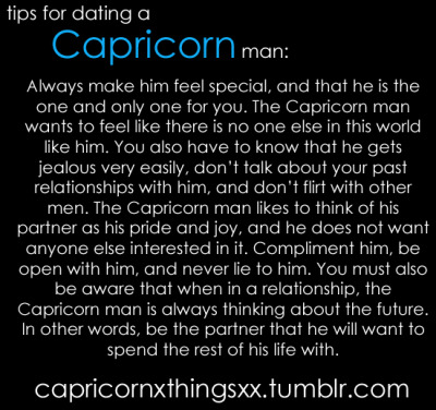 dating a capricorn man horoscope