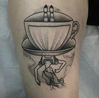 Alice And Wonderland Tattoo Tumblr